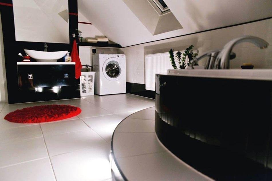 Galeria Zdjęć Zdjęcie łazienka Na Poddaszu Oświetlenie