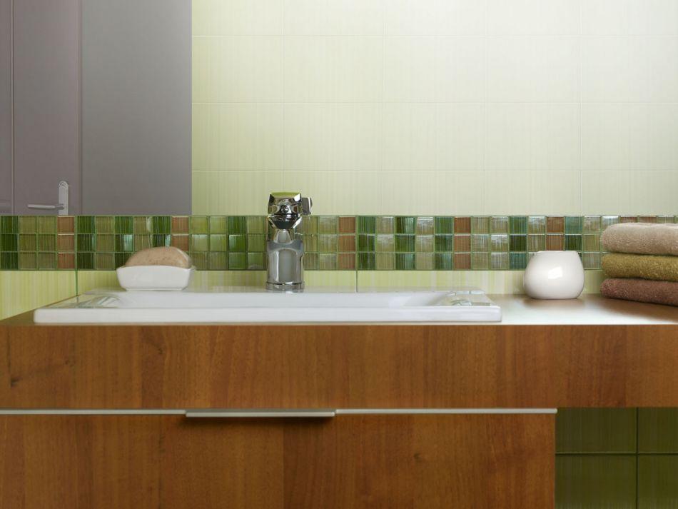 Galeria Zdjęć Zdjęcie Zielona Mozaika Szklana Opoczno