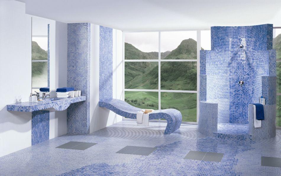 Galeria Zdjęć Zdjęcie Paradyż Niebieska łazienka