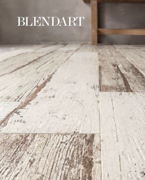 Kolekcja płytek BLENDART firmy SANT'AGOSTINO imitująca postarzane drewno