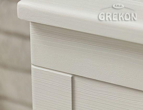 MEIVA - biały struktura drewna