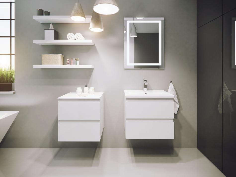 Defra Meble łazienkowe Galeria Meble łazienkowe Z Kolekcji Como