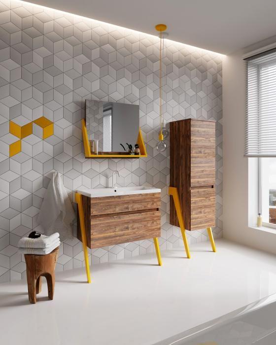 Deftrans - Meble łazienkowe Op-Arty marki Defra