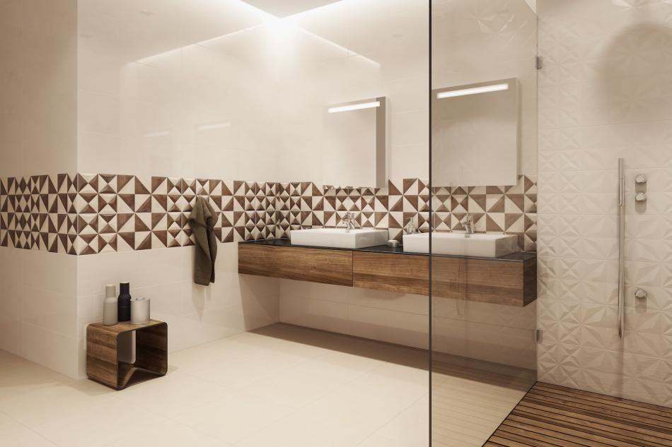 Sposoby Na Powiększenie Małej łazienki Podłogi I ściany