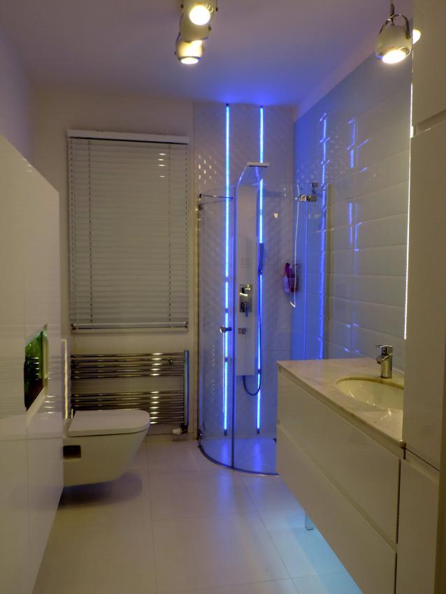 Galeria Zdjęć Zdjęcie Oświetlenie Led W łazience