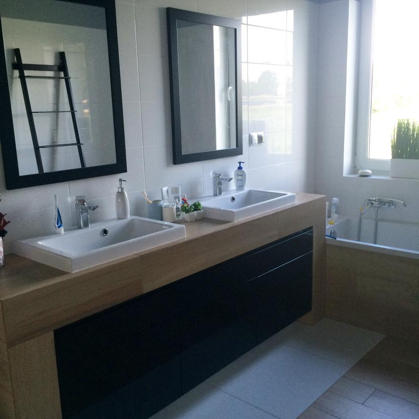 Galeria Zdjęć Zdjęcie łazienka Z Dwiema Umywalkami
