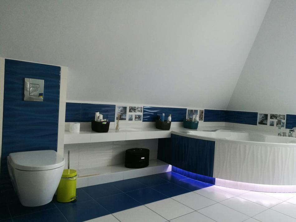 Galeria Zdjęć Zdjęcie Aranżacja łazienki Na Poddaszu Z