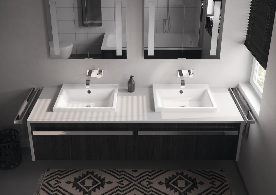 jak powi kszy niewielk azienk wanny kabiny brodziki kaldewei. Black Bedroom Furniture Sets. Home Design Ideas