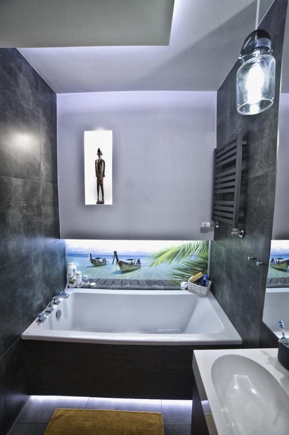 Galeria Zdjęć Zdjęcie Oświetlenie Led W łazience W Bloku