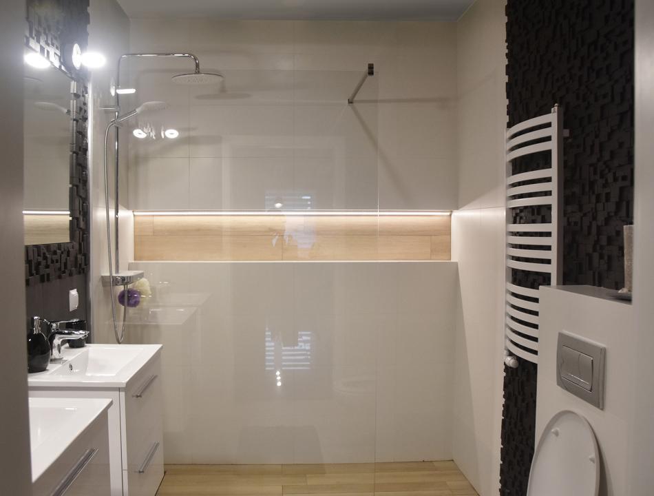Galeria Zdjęć Zdjęcie Białe Płytki Pod Prysznicem W