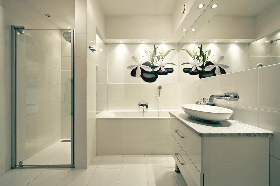 Aranżacje łazienek W Bloku Galeria Biała łazienka W Bloku