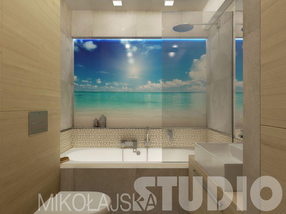 Galeria Zdjęć Zdjęcie Fototapeta Na Szkle W łazience W