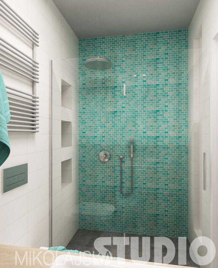 Galeria Zdjęć Zdjęcie Mozaika Morska Pod Prysznicem W