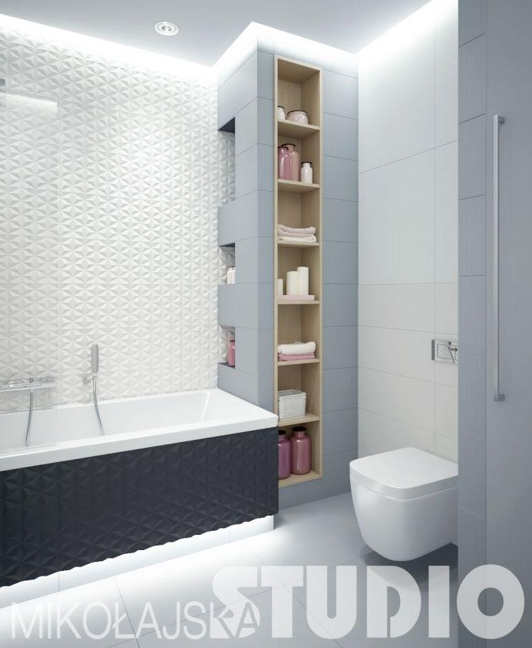 Aranżacje łazienek W Bloku Galeria Płytki łazienkowe 3d