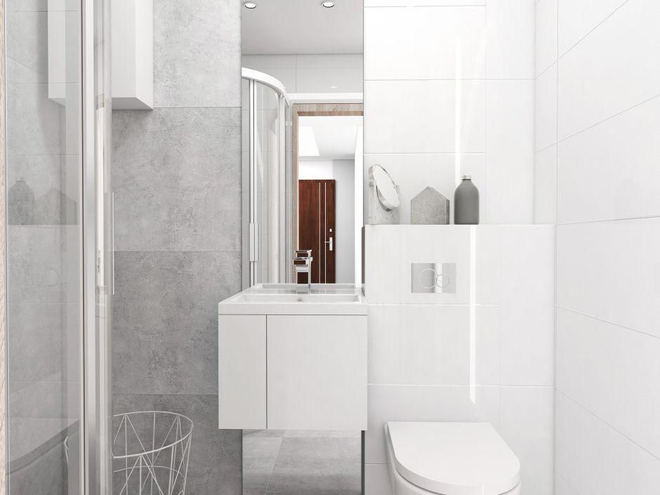 Galeria Zdjęć Zdjęcie Biała Mała łazienka W Bloku