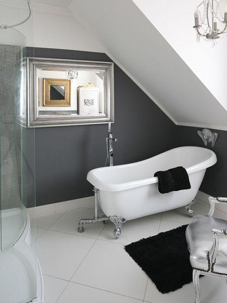 Galeria Zdjęć Zdjęcie łazienka W Stylu Retro Glamour Na