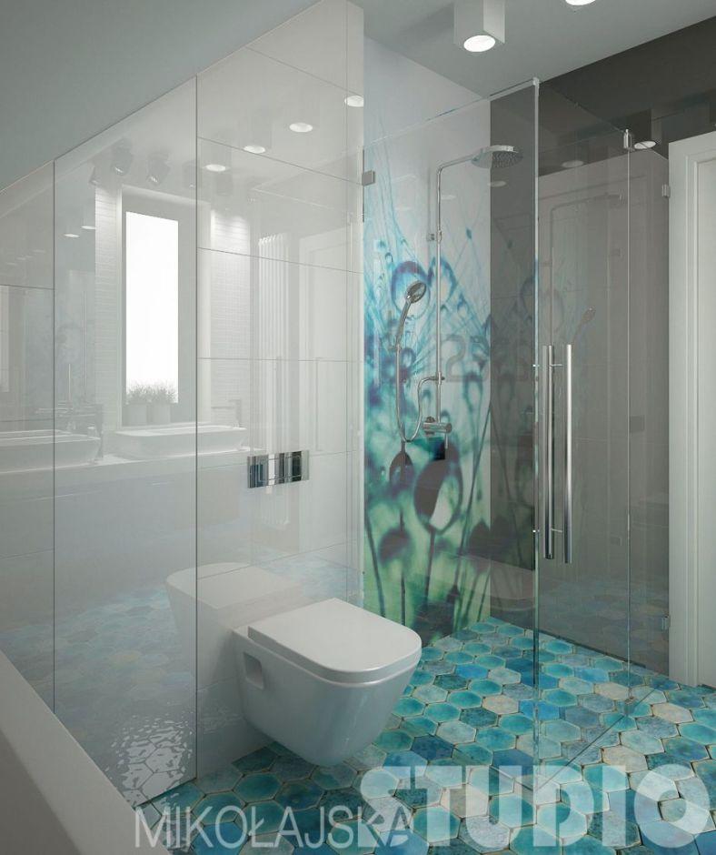 Galeria Zdjęć Zdjęcie łazienka Ze Skosem Na Poddaszu