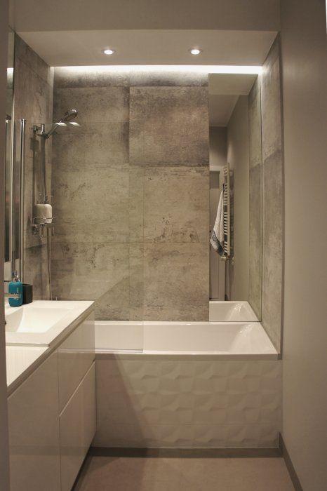 Galeria Zdjęć Zdjęcie Mała łazienka Z Wanną I Parawanem