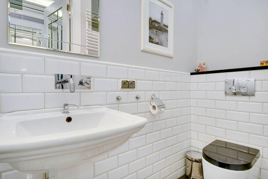 Galeria Zdjęć Zdjęcie Białe Kafle W Małej łazience Retro