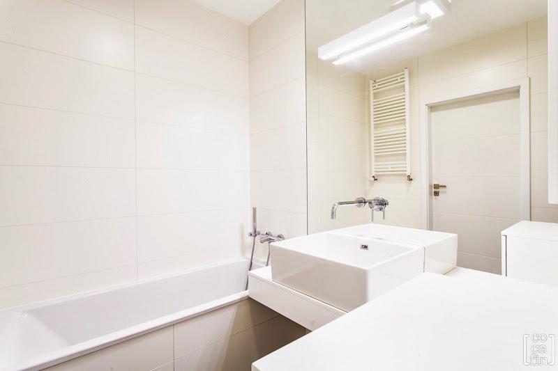 Aranżacje Małych łazienek Album Galeria Biała Mała łazienka W