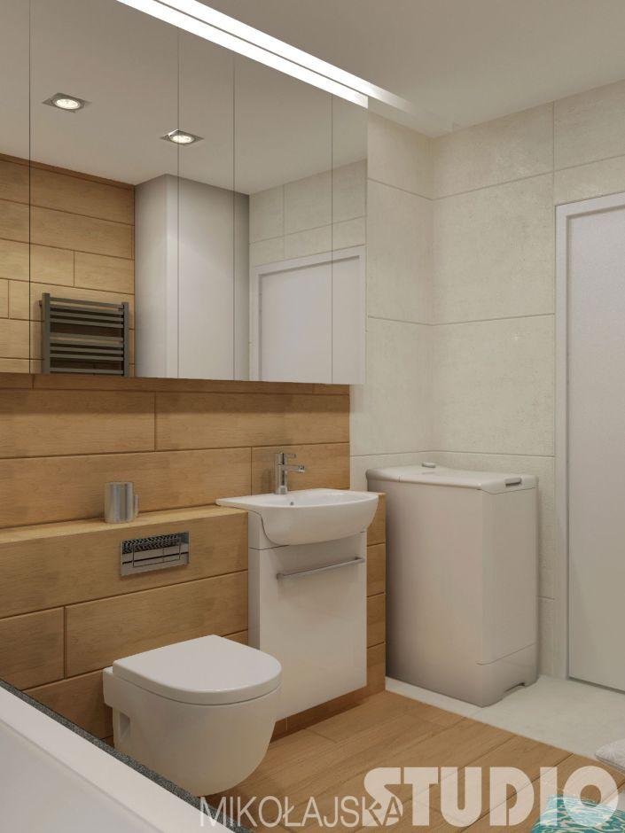 Galeria Zdjęć Zdjęcie Mała łazienka W Drewnie Wszystko