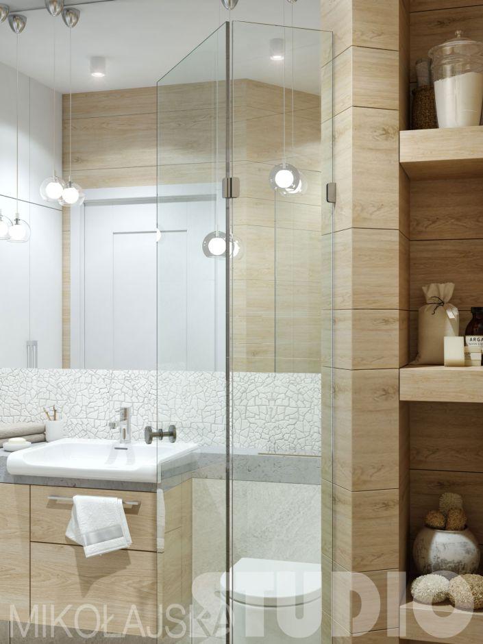 Galeria Zdjęć Zdjęcie Nietypowy Układ Małej łazienki