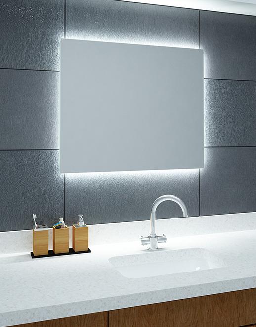 Galeria Zdjęć Zdjęcie Lustro łazienkowe Shine Led