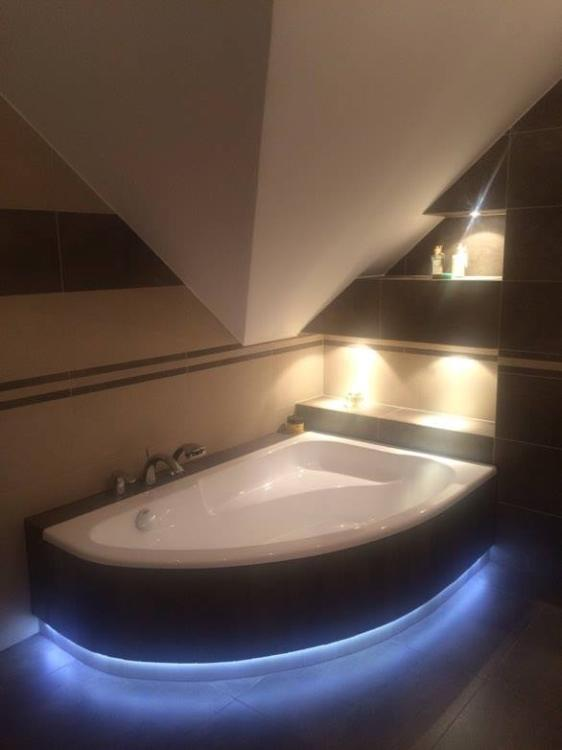 Galeria Zdjęć Zdjęcie łazienka Na Poddaszu Z Wanną