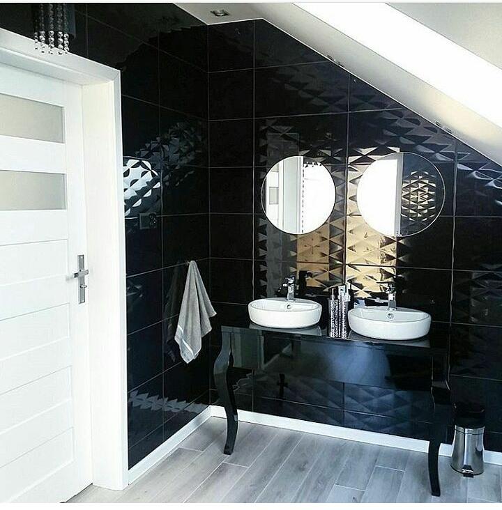 Galeria Zdjęć Zdjęcie Elegancka łazienka Z Czarnymi