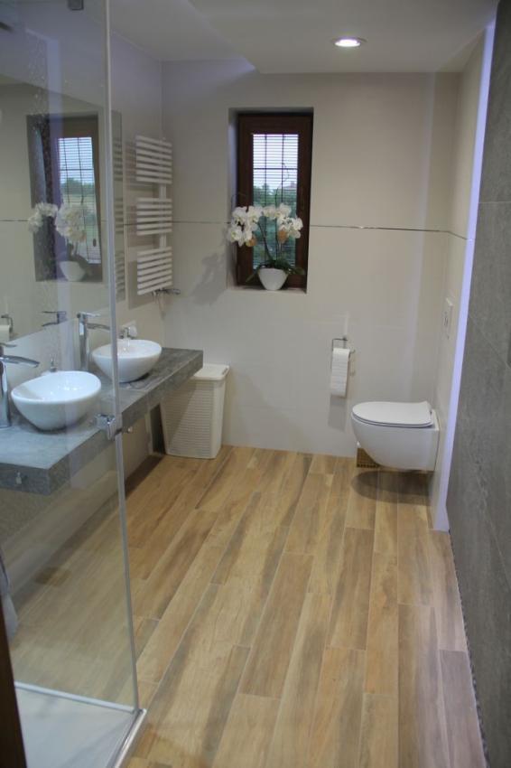 Galeria Zdjęć Zdjęcie Jasna łazienka Z Płytkami