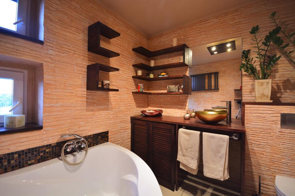 Galeria Zdjęć Zdjęcie Tynk Dekoracyjny W łazience
