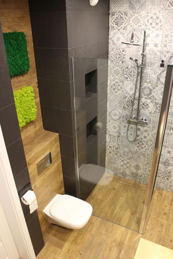 Galeria Zdjęć Zdjęcie łazienka Z Płytkami Imitującymi