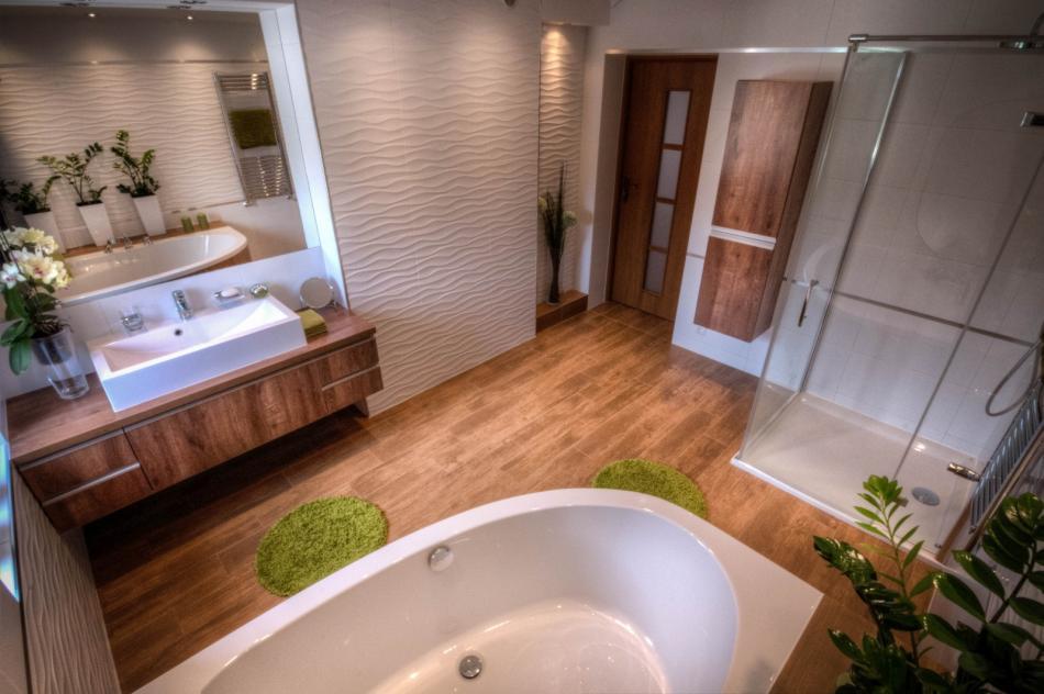 Galeria Zdjęć Zdjęcie Duża łazienka Z Wanną I Prysznicem