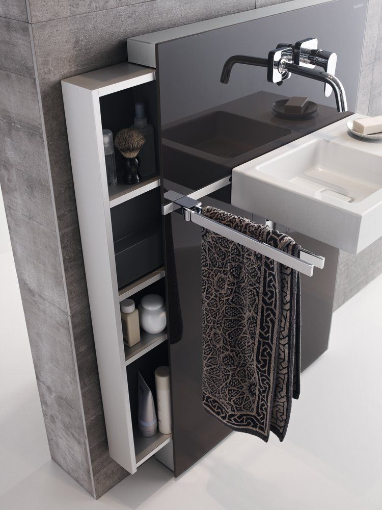Umywalkowy moduł sanitarny Geberit Monolith
