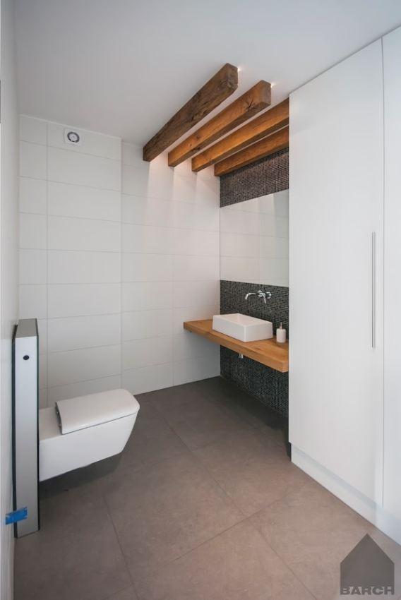 łazienka W Stylu Nowoczesnym Galeria Biała Nowoczesna łazienka Z
