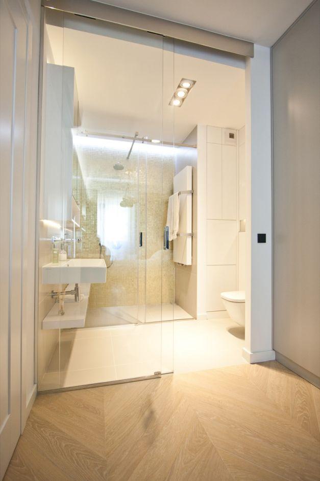 Galeria Zdjęć Zdjęcie Mała Jasna łazienka Z Prysznicem We