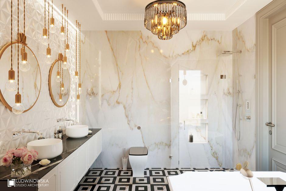 Galeria Zdjęć Zdjęcie Marmur Na ścianie W łazience Ze