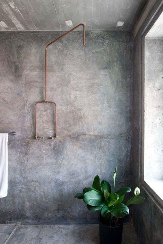 łazienka W Stylu Industrialnym Galeria Prysznic W Stylu