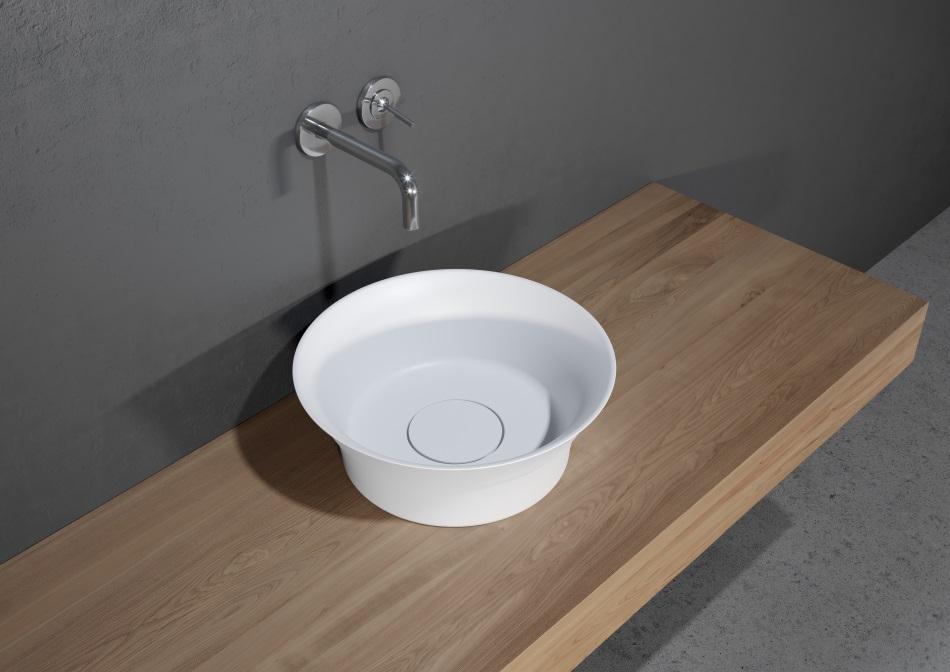 Riho - umywalka Barca z serii Solid Surface