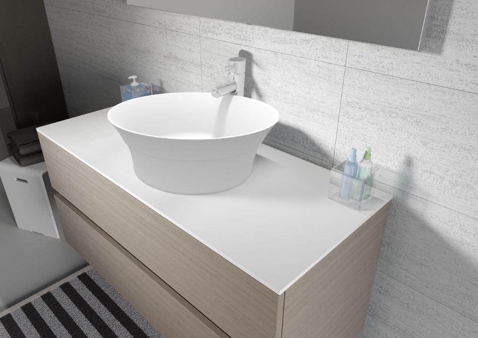 Riho - umywalka Barca z serii Solid Surface 2.0