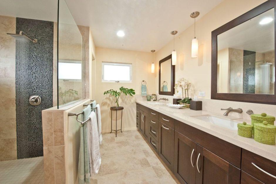 Galeria Zdjęć Zdjęcie Duża Wąska łazienka Z Dwiema