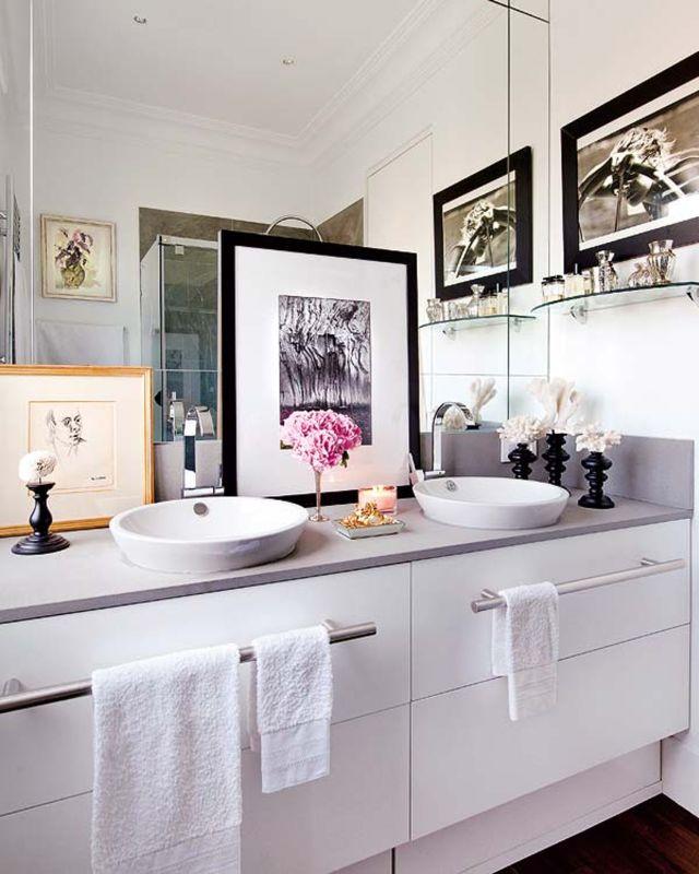 Lazienka Z Dwiema Umywalkami Galeria Dwie Umywalki Wpuszczone W