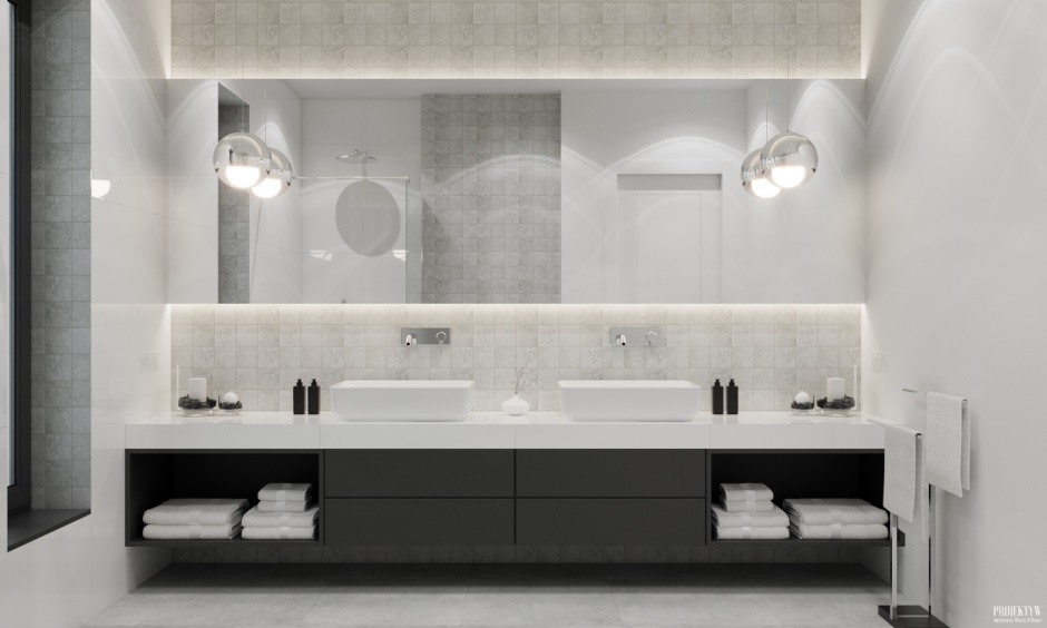 Galeria Zdjęć Zdjęcie Lampy Kule W Aranżacji łazienki Z