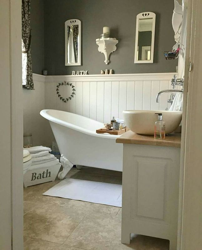 Galeria Zdjęć Zdjęcie łazienka W Stylu Francuskim Z Białą