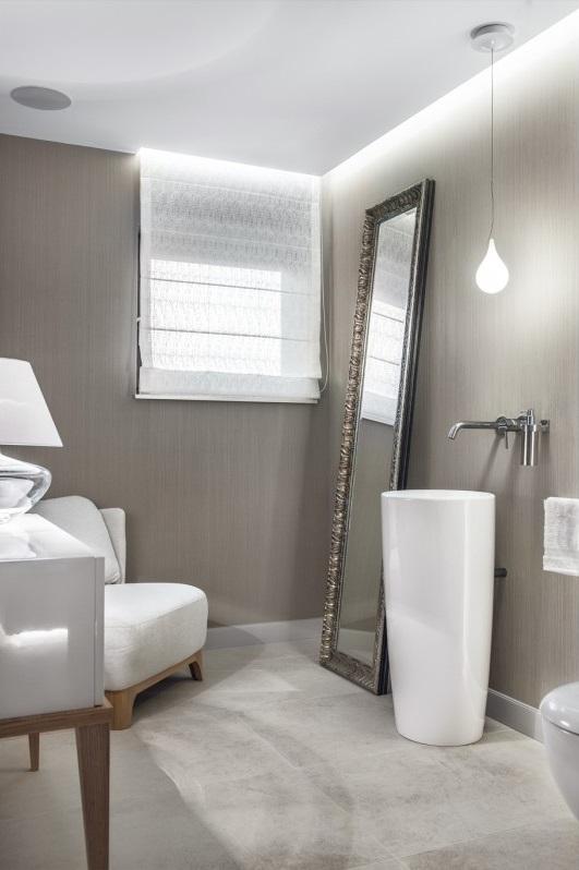 Galeria zdjęć zdjęcie: Lampa wisząca łezka w łazience z