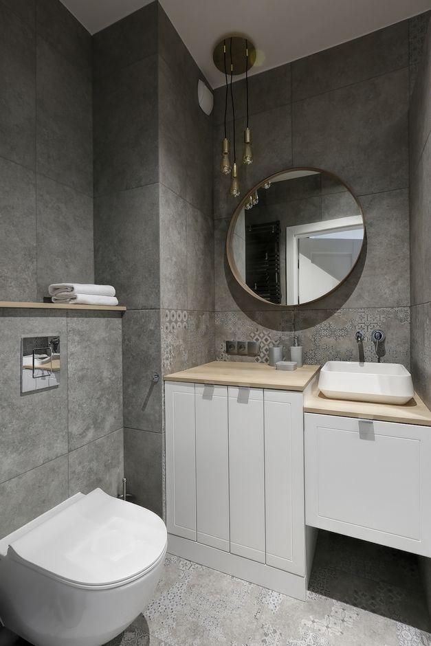 Galeria Zdjęć Zdjęcie Aranżacja Szarej łazienki Z