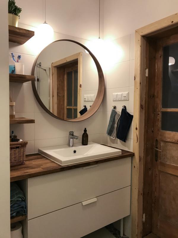 Galeria Zdjęć Zdjęcie Okrągłe Lustro łazienkowe W