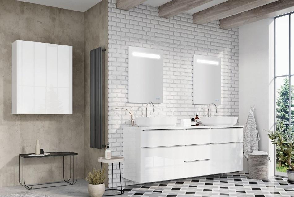 meble łazienkowe z kolekcji Lofty - Elita