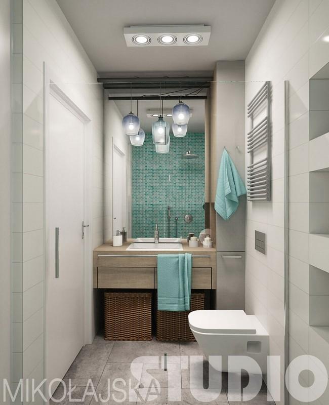 Galeria Zdjęć Zdjęcie Turkusowa łazienka Z Umywalką
