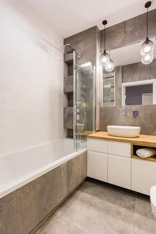 Galeria Zdjęć Zdjęcie Aranżacja Małej łazienki Z Wanną I